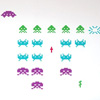 Space Invaders Re-Stik Wall Decals [Wall Decals]