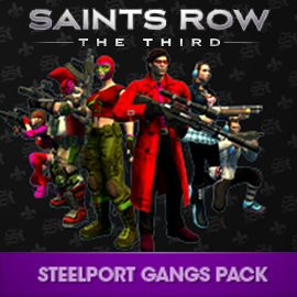 Saints Row: The Third Steelport-Gang-Pack