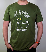 Mr. Bubbles Protector Program T-Shirt