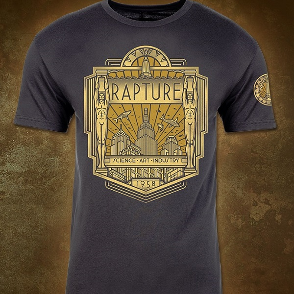 BioShock Rapture Deco T-Shirt