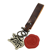 Bioshock Devil's Kiss PVC Wax Seal Keychain