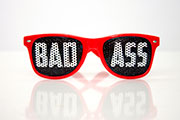 Battleborn Badass Sunglasses - Red