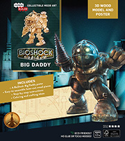 IncrediBuilds: Big Daddy 3D Wood Model and Poster