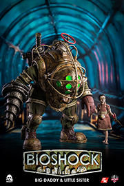 Big Daddy and Little Sister 1/6 Scale Collectible Figure Set (PRE-ORDER)