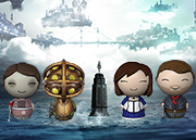 BioShock Dorbz Collection Set