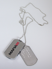 Mafia III USB Dog Tags