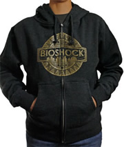 BioShock Zip-up Logo Hoodie (Men's)