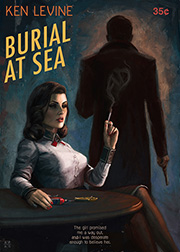 Ástor Alexander's Burial at Sea Paperback Poster