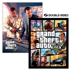 GTAV Double Sided -  Poster