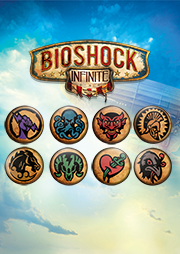 BioShock Infinite Vigor Pin Set