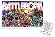 Signed Battleborn Lithograph