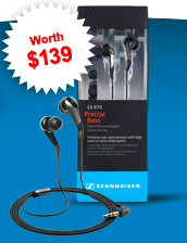 CX870 Sennheiser Headset (Worth $139!)