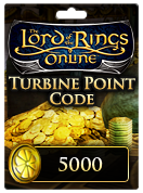 The Lord of the Rings Online™ 5000 Turbine Point Code