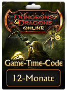 12-Monate-Game-Time-Code von Dungeons & Dragons Online