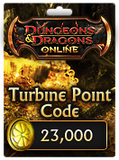 Dungeons & Dragons Online™ 23,000 Turbine Point Code