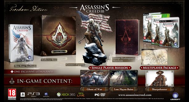 Assassins Creed III - Freedom Edition