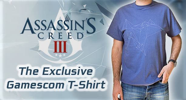 Assassin's Creed® III - The Exclusive Gamescom T-Shirt