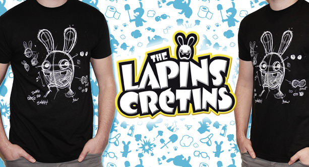 The Lapins Crétins™ Blackboard Shirt