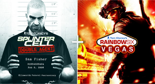 Compilation Splinter Cell Double Agent & Rainbow Six Vegas