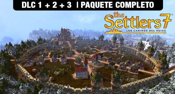 Bundle The Settlers 7: Los Caminos des Reino - DLC Pack 1, 2 & 3