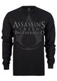 Assassin's Creed: Brotherhood Chandail Noir Manches Longues
