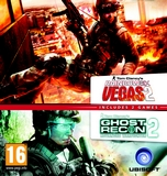 Compilation Rainbow Six Vegas 2 & Ghost Recon Advanced Warfighter 2