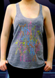 Coaches Outline Tank - Athletic Grey
