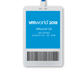 VMworld 2018 US Full Conference Pass