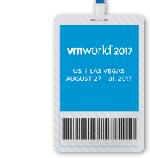 VMworld 2017 US Full Conference Pass