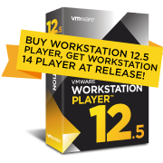 Upgrade to Workstation 12.5 Player