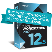 Upgrade to Workstation 12.5 Pro for Academic Users