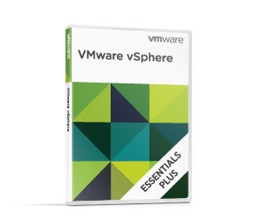 VMware vSphere 5 Essentials Kit for 3 hosts (Max 2 processors per host) and 192 GB vRAM entitlement