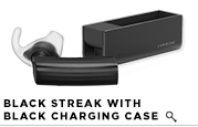 ERA by Jawbone - Black Streak w/ Charging Case