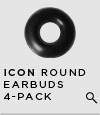 Jawbone ICON Round Earbuds 4-Pack