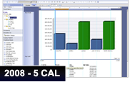 SAP Crystal Reports Server 2008, producto completo, 5 CAL
