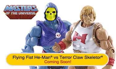 Flying Fists He-Man® & Terror Claws Skeletor® Figures