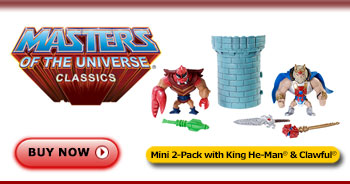 <em>Mini</em> King He-Man® & Clawful® Figures