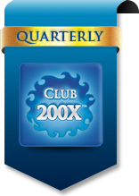 Club 200X™ Subscription: Quarterly Shipment Option