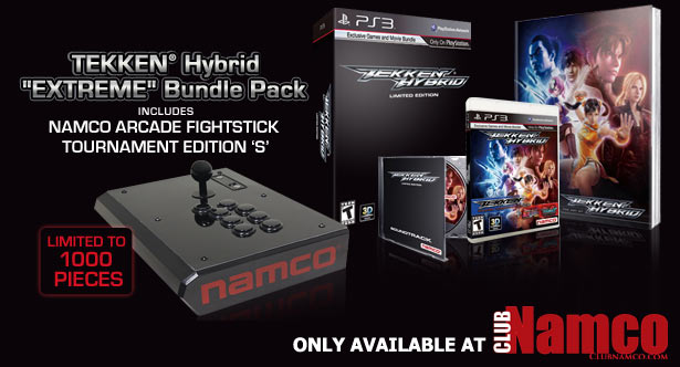 TEKKEN Hybrid – Namco Arcade FightStick Tournament Edition 'S'