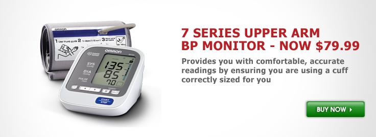 7 Series™ Upper Arm Blood Pressure Monitor (BP760)
