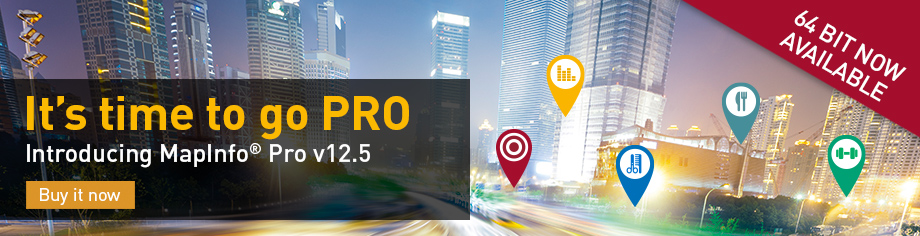 MapInfo Professional v12.5 Standard Version (English)