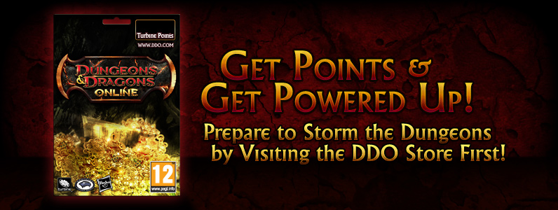 Dungeons & Dragons Online™ 23000 Turbine Point Code