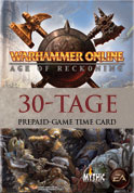 Warhammer Online Age of Reckoning: 30-Tage Prepaid-Game Time Card