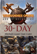 Warhammer® Online: Age of Reckoning™ 30-day Game Time™ Card