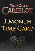 Dark Age of Camelot 1 Month Time Card