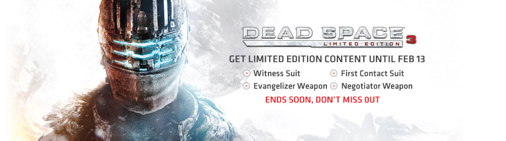 Dead Space™ 3 Limited Edition