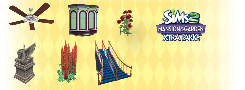 The Sims™ 2 Mansion and Garden Xtra pakke*