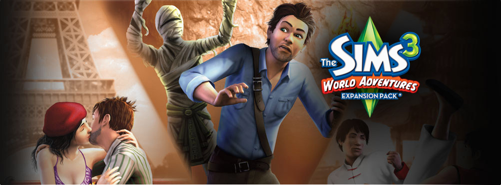 The Sims™ 3 World Adventures (Expansion Pack)