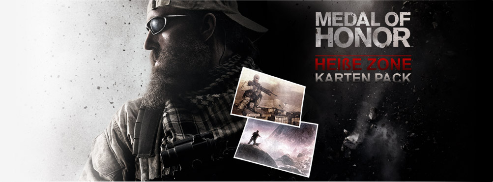 Medal of Honor - Karten-Pack Heiße Zone