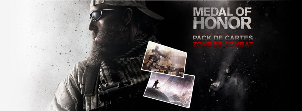 Medal of Honor -Pack de cartes Zone de combat